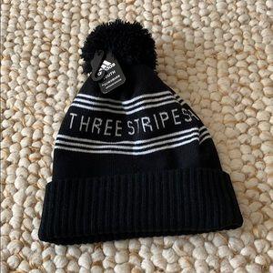ADIDAS Three Stripes Winter Beanie Hat NEW